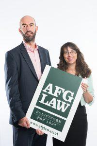 Greg French and Anita Boardman